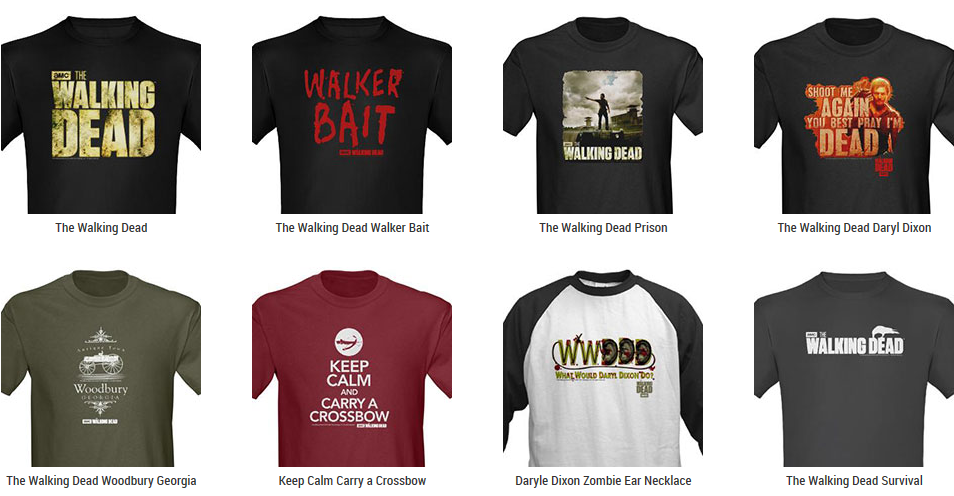 The Walking Dead T-Shirts – TShirt Syndicate Where all the good shirts go