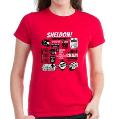 The Big Bang Theory Official Tshirts